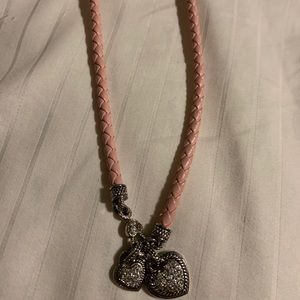 Beautiful Hearts Crystal necklace (Never worn)